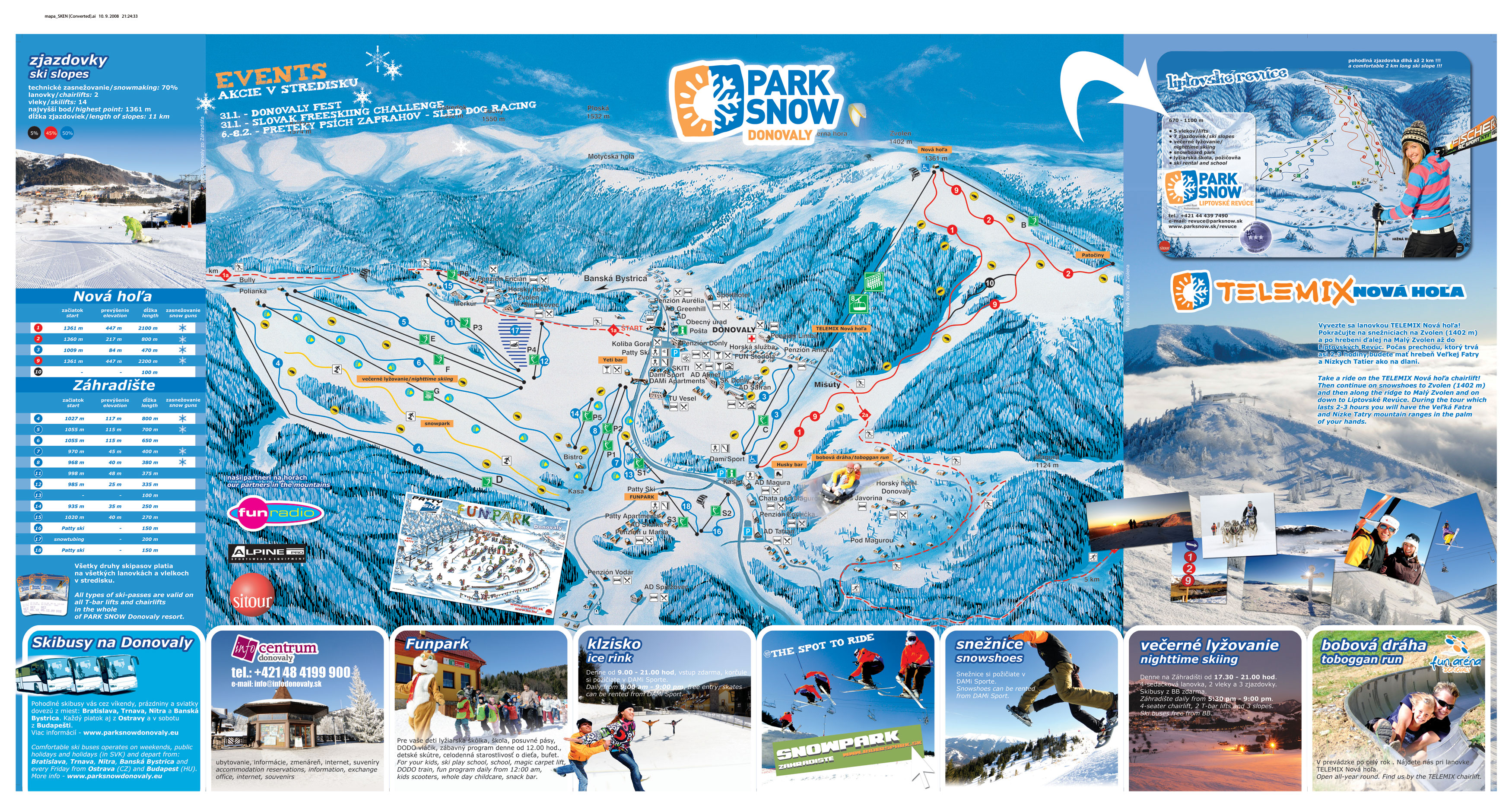 Park Snow Donovaly Great Skiing At Slovak Top Resort Are You Ready